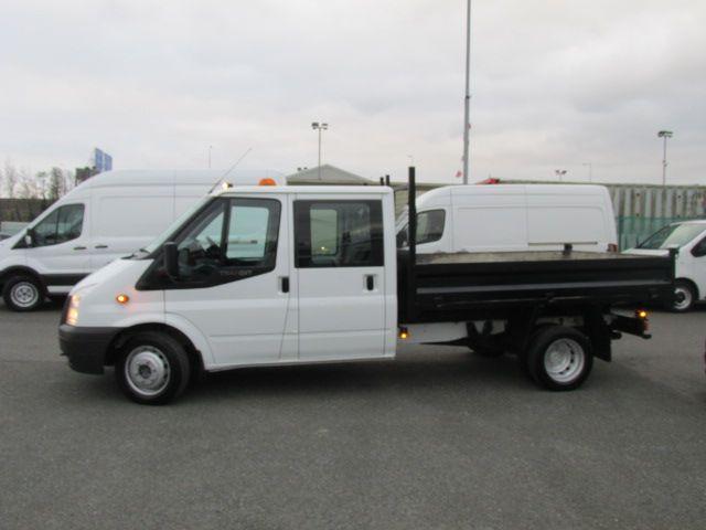 2014 Ford Transit 2.2D T350L C/cab Tipper (141D21470) Image 4
