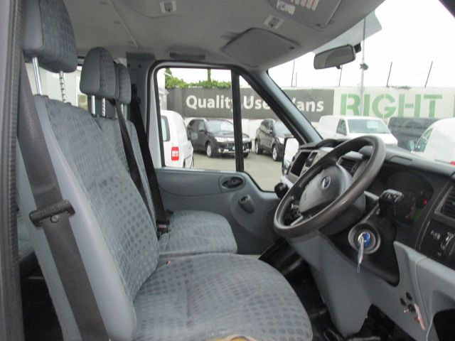2014 Ford Transit 2.2D T350L C/cab Tipper (141D21470) Image 7