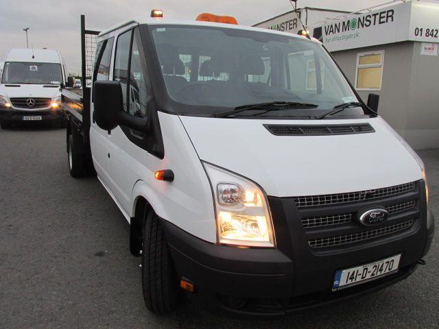 2014 Ford Transit 2.2D T350L C/cab Tipper (141D21470)