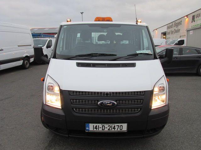 2014 Ford Transit 2.2D T350L C/cab Tipper (141D21470) Image 2