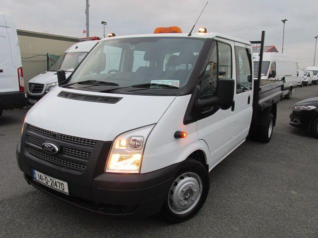 2014 Ford Transit 2.2D T350L C/cab Tipper (141D21470) Image 3