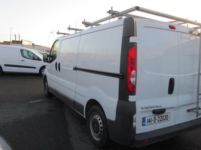 2014 Vauxhall Vivaro 2900 CDTI P/V (141D22030) Image 5