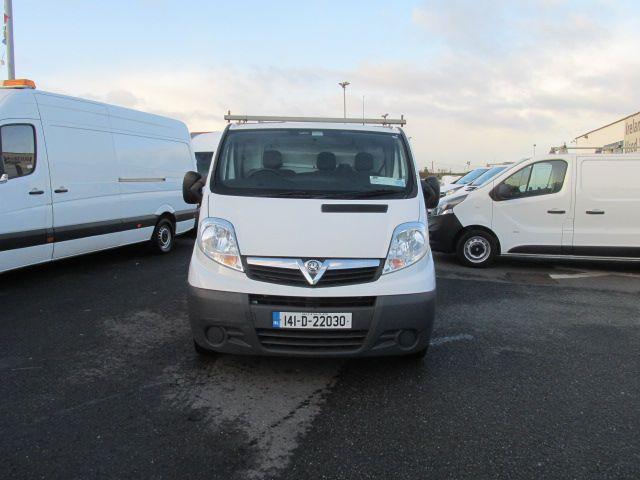 2014 Vauxhall Vivaro 2900 CDTI P/V (141D22030) Image 8
