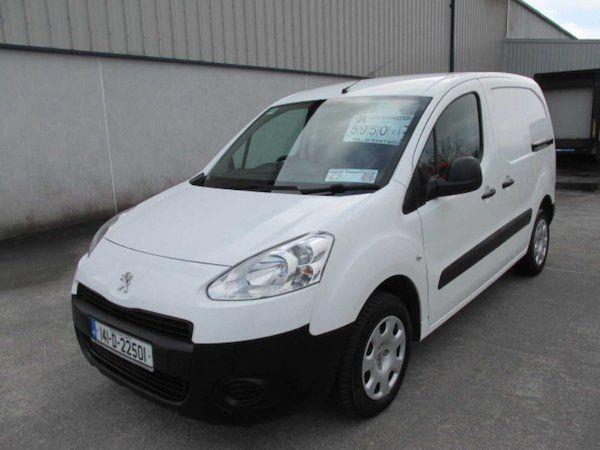 2014 Peugeot Partner HDI S L1 850 (141D22501)