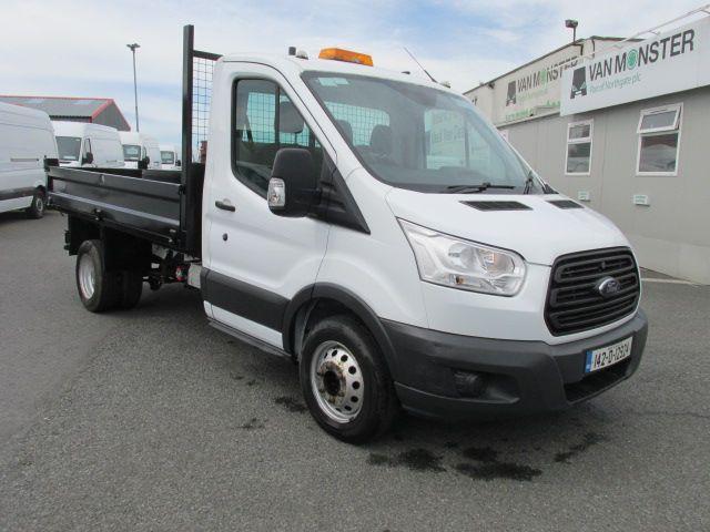 2014 Ford Transit 350 C/C DRW    TIPPER    (142D12924)