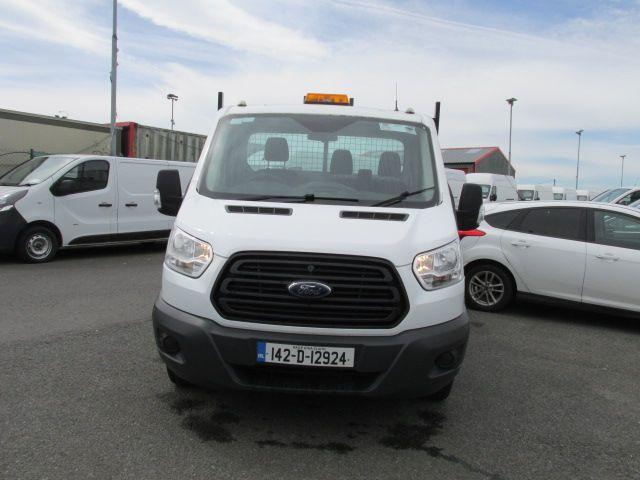 2014 Ford Transit 350 C/C DRW    TIPPER    (142D12924) Image 8