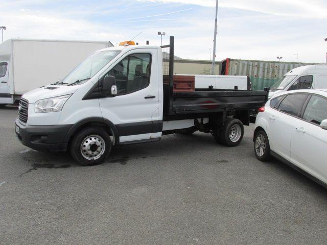 2014 Ford Transit 350 C/C DRW    TIPPER    (142D12924) Image 6