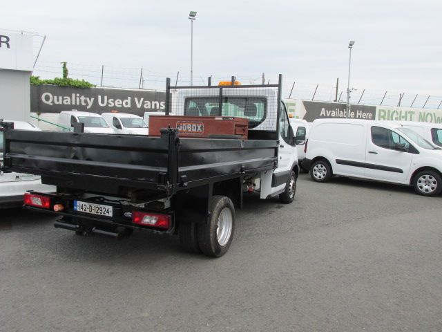 2014 Ford Transit 350 C/C DRW    TIPPER    (142D12924) Image 3