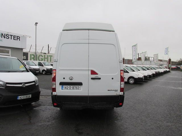 2014 Vauxhall Movano R3500 L3H3 P/V CDTI (142D18763) Image 4
