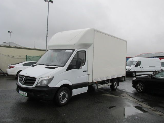 2014 Mercedes Sprinter 313 CDI       LUTON  /  TAIL  LIFT  (142D19242) Image 7