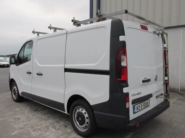 2014 Vauxhall Vivaro 2900 L1H1 CDTI P/V (142D19268) Image 4