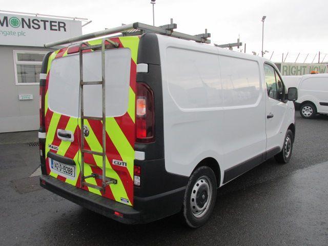 2014 Vauxhall Vivaro 2900 Cdti 5DR (142D19288) Image 10