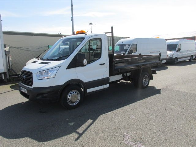2014 Ford Transit 350 C/C DRW    TIPPER    (142D19312) Image 4