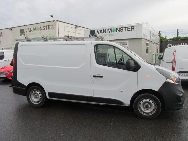 2014 Vauxhall Vivaro 2900 Cdti 5DR (142D19345) Image 11