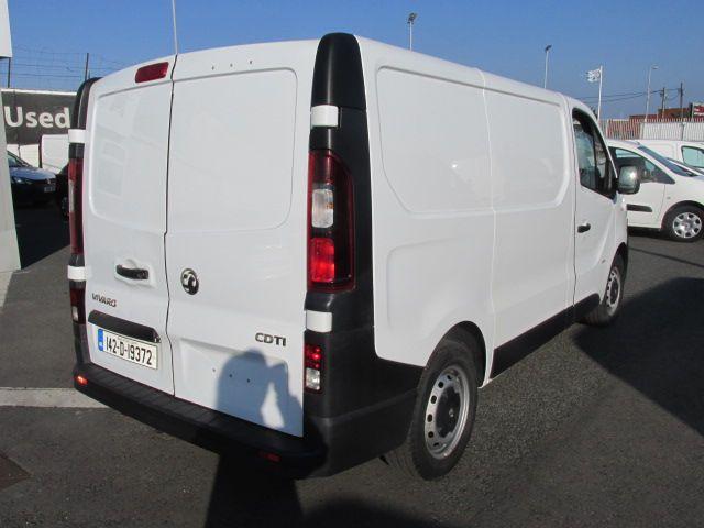 2014 Vauxhall Vivaro 2900 L1H1 CDTI P/V (142D19372) Image 9