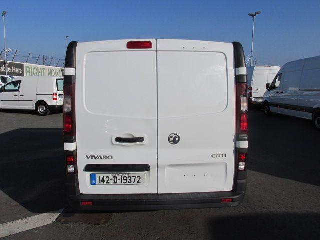 2014 Vauxhall Vivaro 2900 L1H1 CDTI P/V (142D19372) Image 7