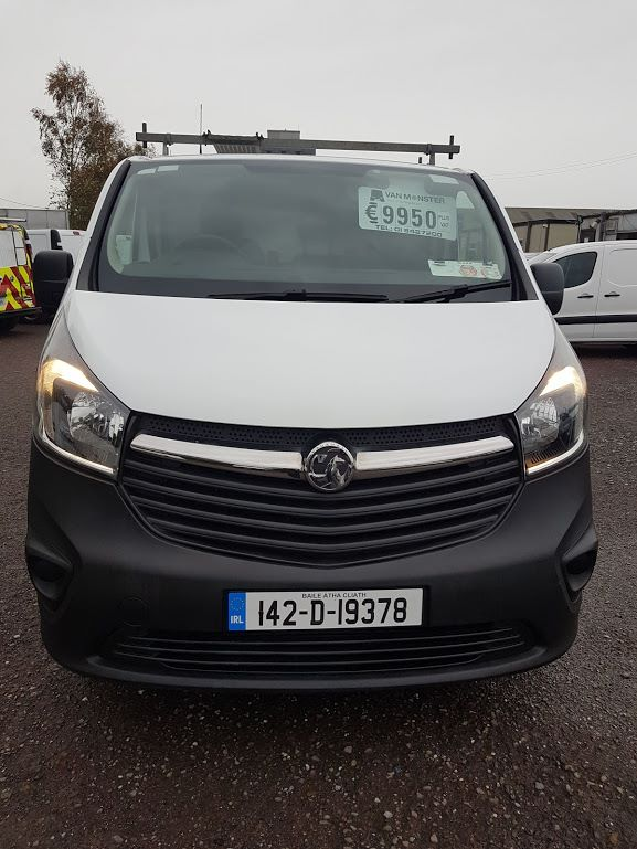 2014 Vauxhall Vivaro 2900 L1H1 CDTI P/V (142D19378) Image 2