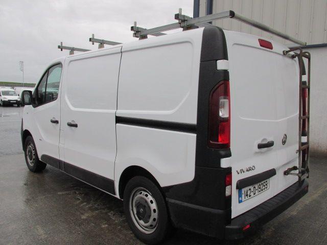 2014 Vauxhall Vivaro 2900 L1H1 CDTI P/V (142D19255) Image 4