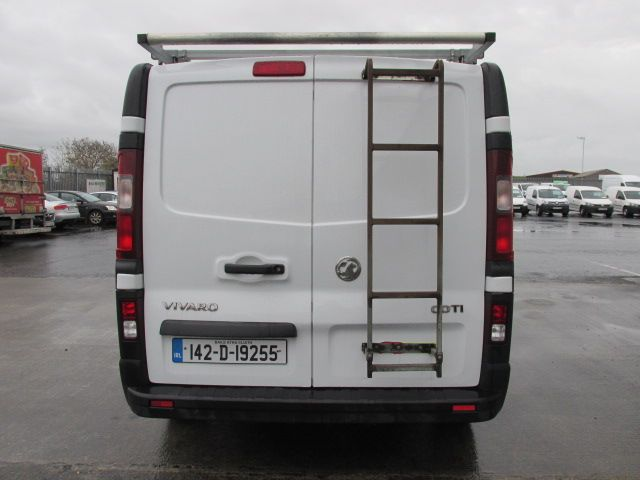 2014 Vauxhall Vivaro 2900 L1H1 CDTI P/V (142D19255) Image 5