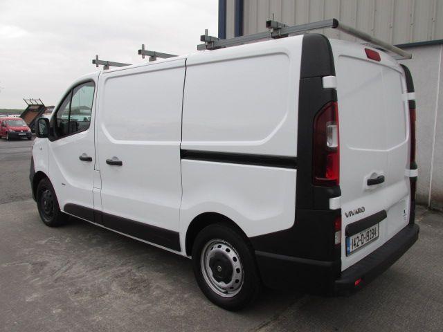 2014 Vauxhall Vivaro 2900 L1H1 CDTI P/V (142D19284) Image 4