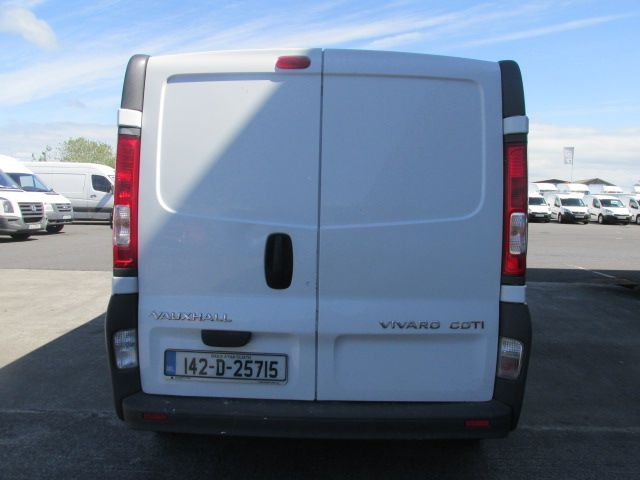 2014 Vauxhall Vivaro 2900 CDTI P/V (142D25715) Image 5