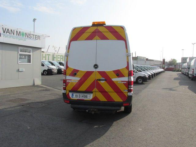 2015 Mercedes-Benz Sprinter 313/36 CDI VAN 5DR (151D14916) Image 4