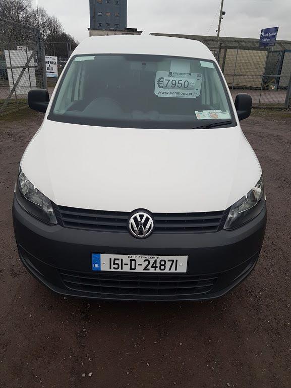 2015 Volkswagen Caddy C20 TDI STARTLINE (151D24871) Image 2