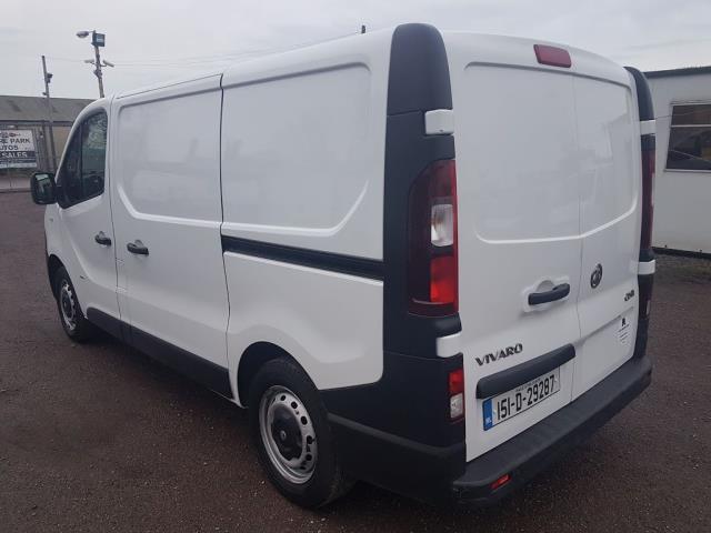 2015 Vauxhall Vivaro 2900 L1H1 CDTI P/V (151D29287) Image 11