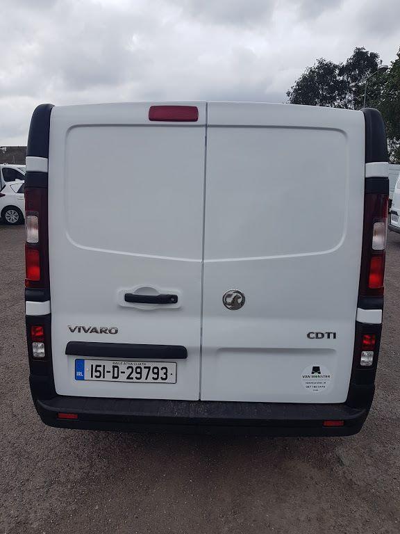 2015 Vauxhall Vivaro 2900 Cdti 5DR (151D29793) Image 10