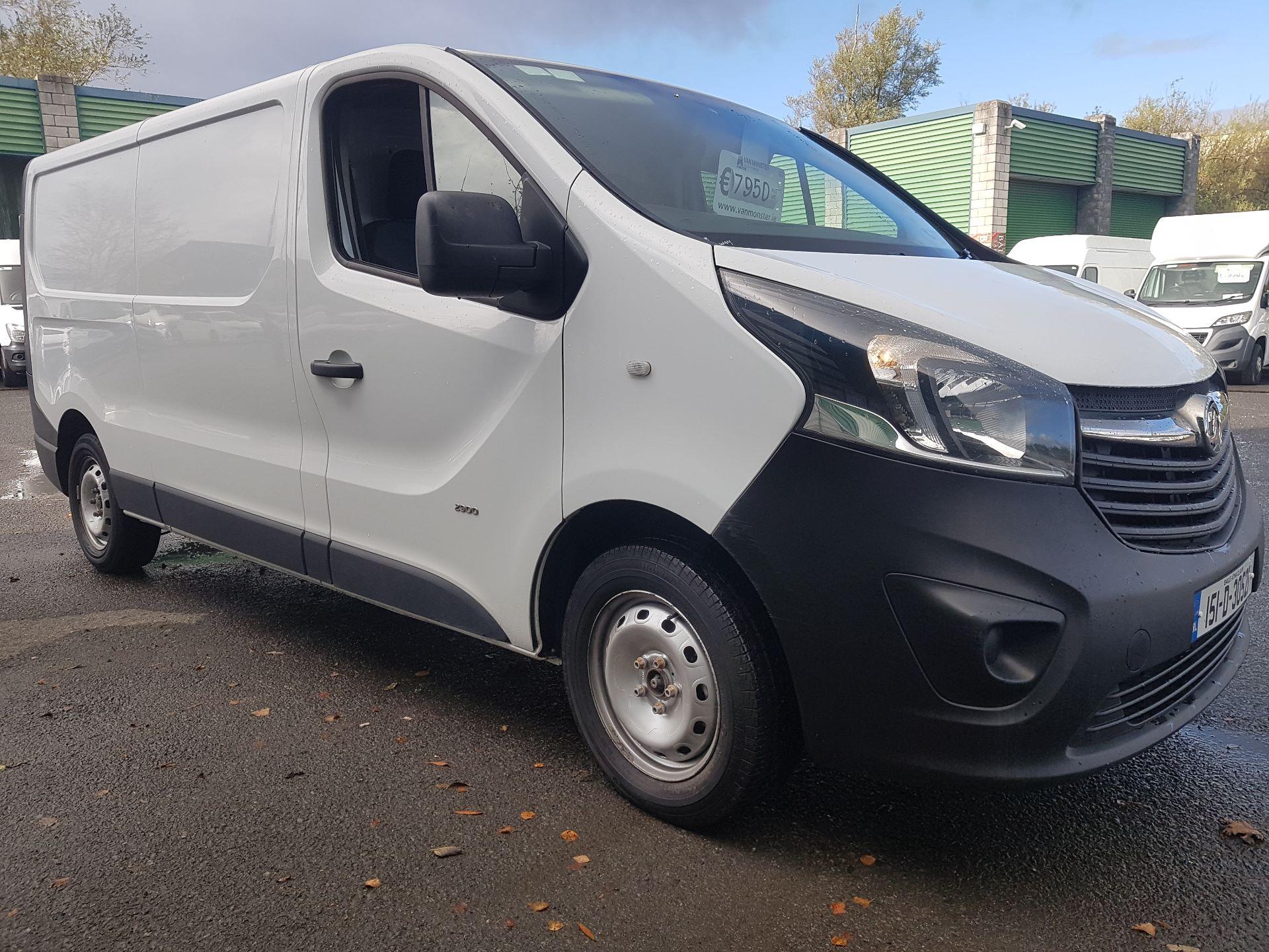 2015 Vauxhall Vivaro 2900 L2H1 CDTI P/V (151D30521) Image 8