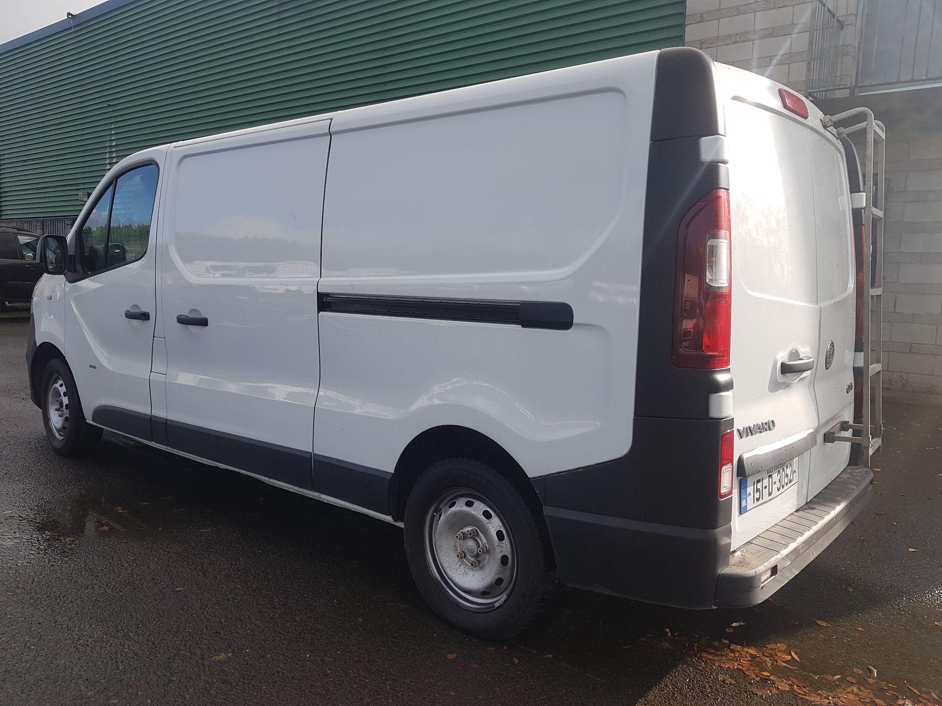 2015 Vauxhall Vivaro 2900 L2H1 CDTI P/V (151D30521) Image 4