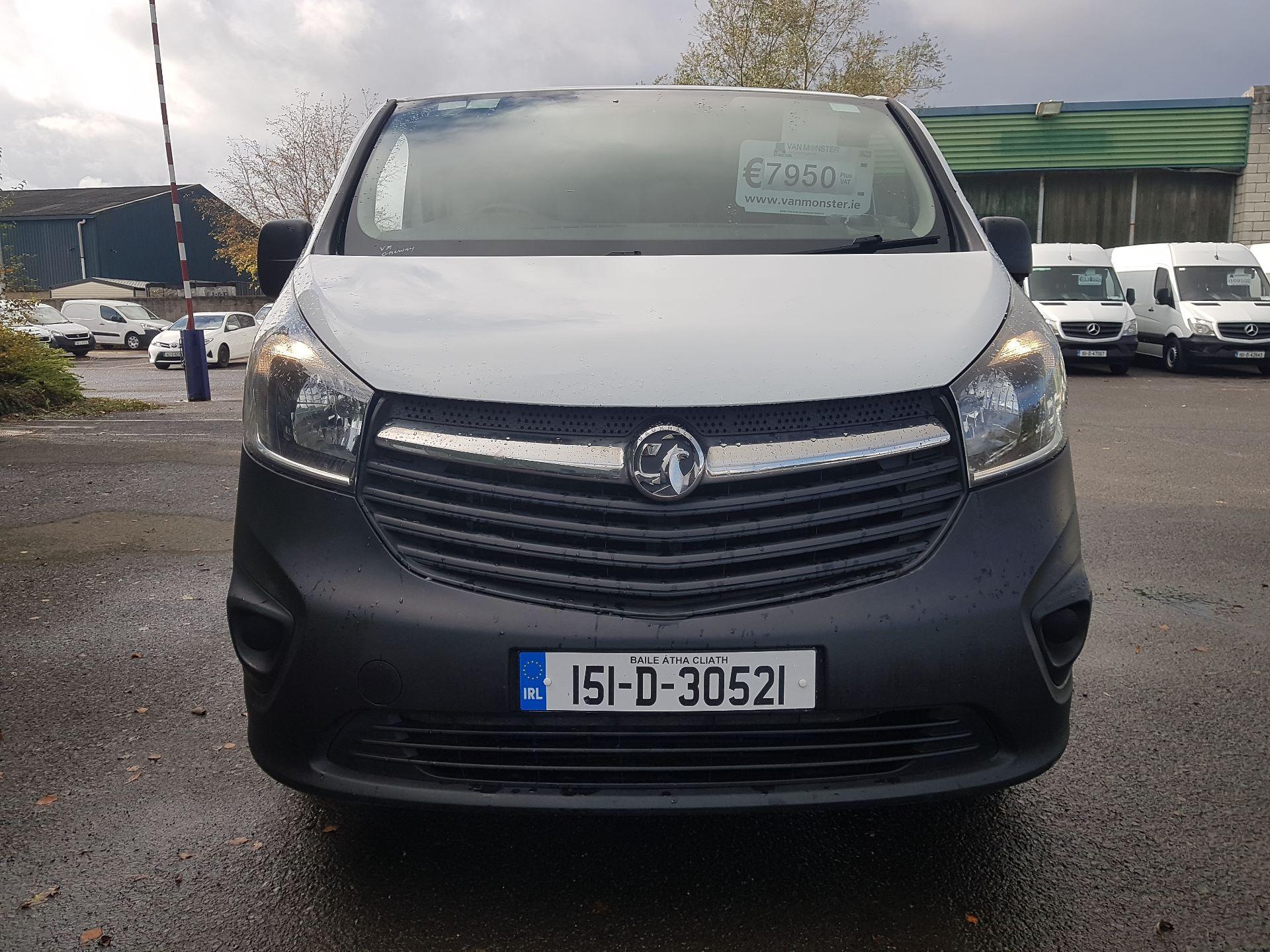 2015 Vauxhall Vivaro 2900 L2H1 CDTI P/V (151D30521)