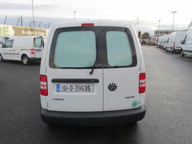 2015 Volkswagen Caddy C20 TDI STARTLINE (151D39635) Image 7