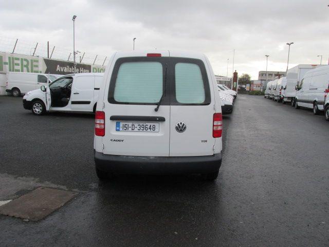 2015 Volkswagen Caddy C20 TDI STARTLINE (151D39648) Image 4