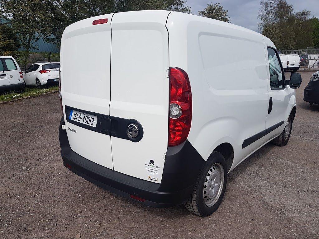 2015 Vauxhall Combo 2000 L1H1 CDTI (151D40013) Image 9