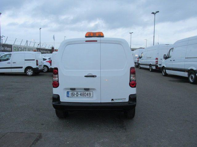 2015 Peugeot Partner HDI S L1 850 (151D48049) Image 4