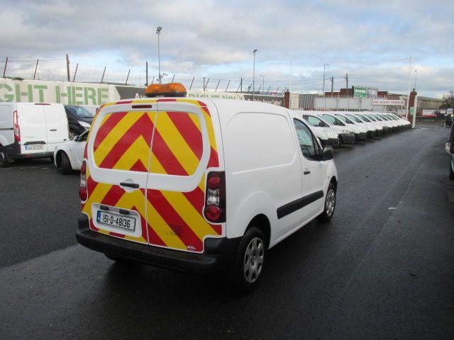 2015 Peugeot Partner HDI S L1 850 (151D48136) Image 7