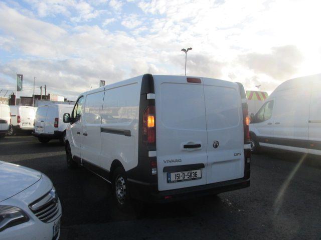 2015 Vauxhall Vivaro 2900 L2H1 CDTI P/V (151D51136) Image 5