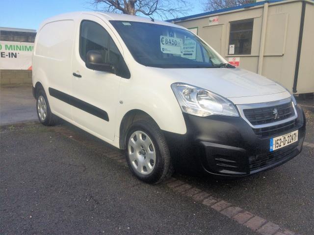 2015 Peugeot Partner 92 (151D22471) Image 1