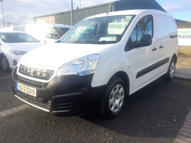 2015 Peugeot Partner 92 (151D22471) Image 3