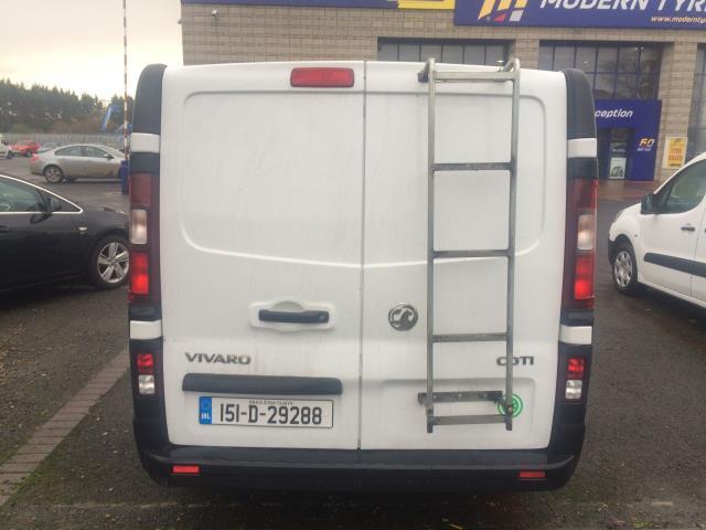 2015 Vauxhall Vivaro 2900 L1H1 CDTI P/V (151D29288) Image 5