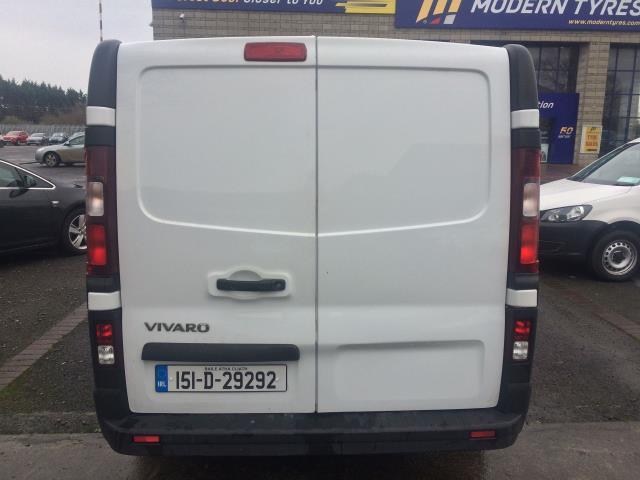 2015 Vauxhall Vivaro 2900 L2H1 CDTI P/V (151D29292) Image 5