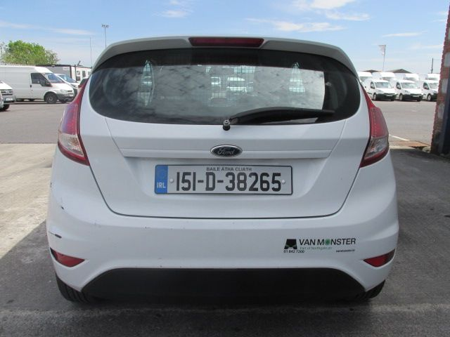 2015 Ford Fiesta BASE TDCI (151D38265) Image 5