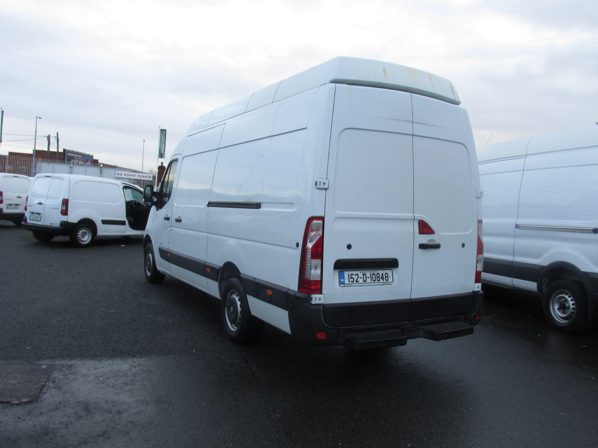 2015 Vauxhall Movano R3500 L3H3 P/V CDTI (152D10848) Image 5