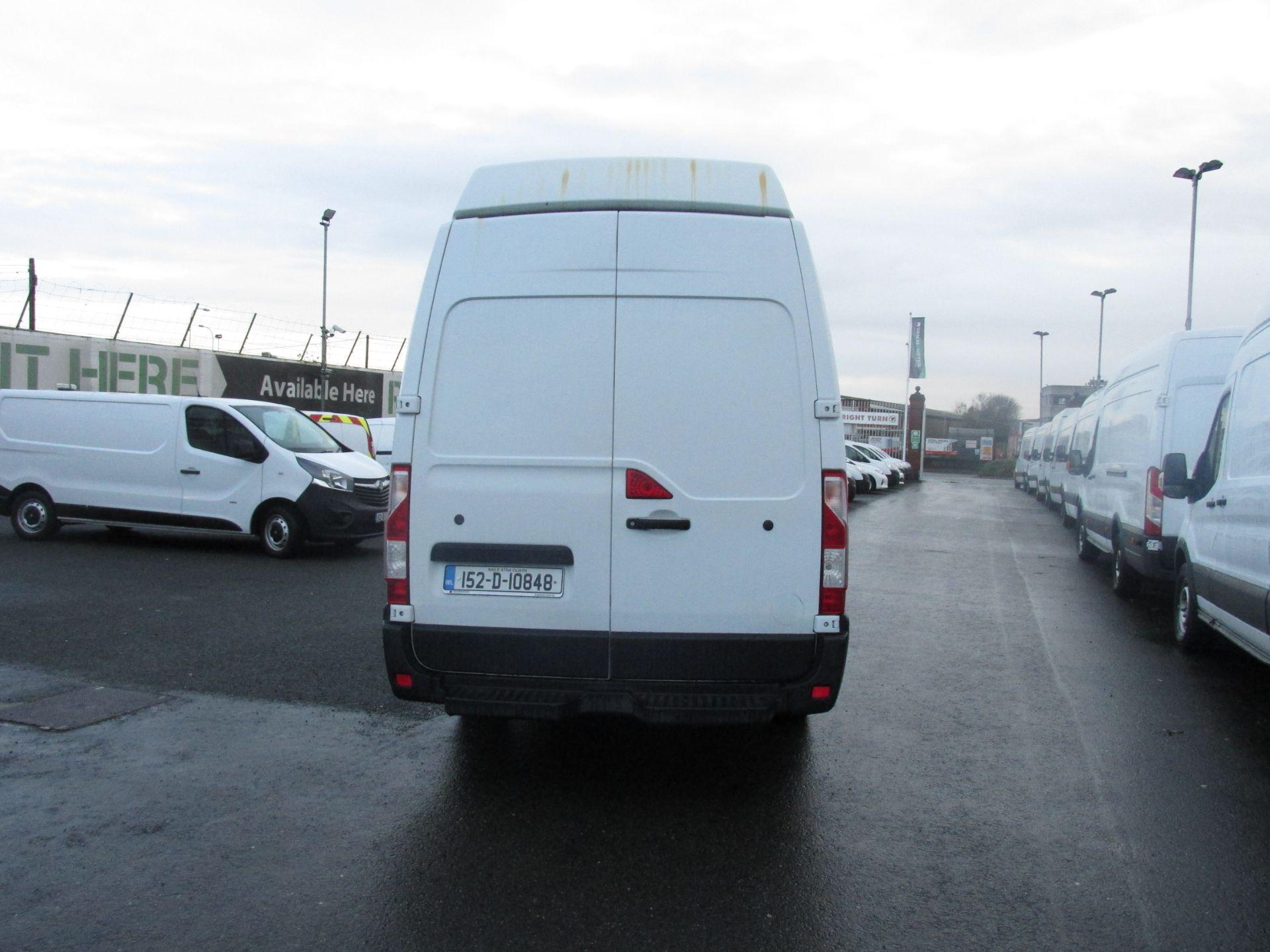 2015 Vauxhall Movano R3500 L3H3 P/V CDTI (152D10848) Image 4