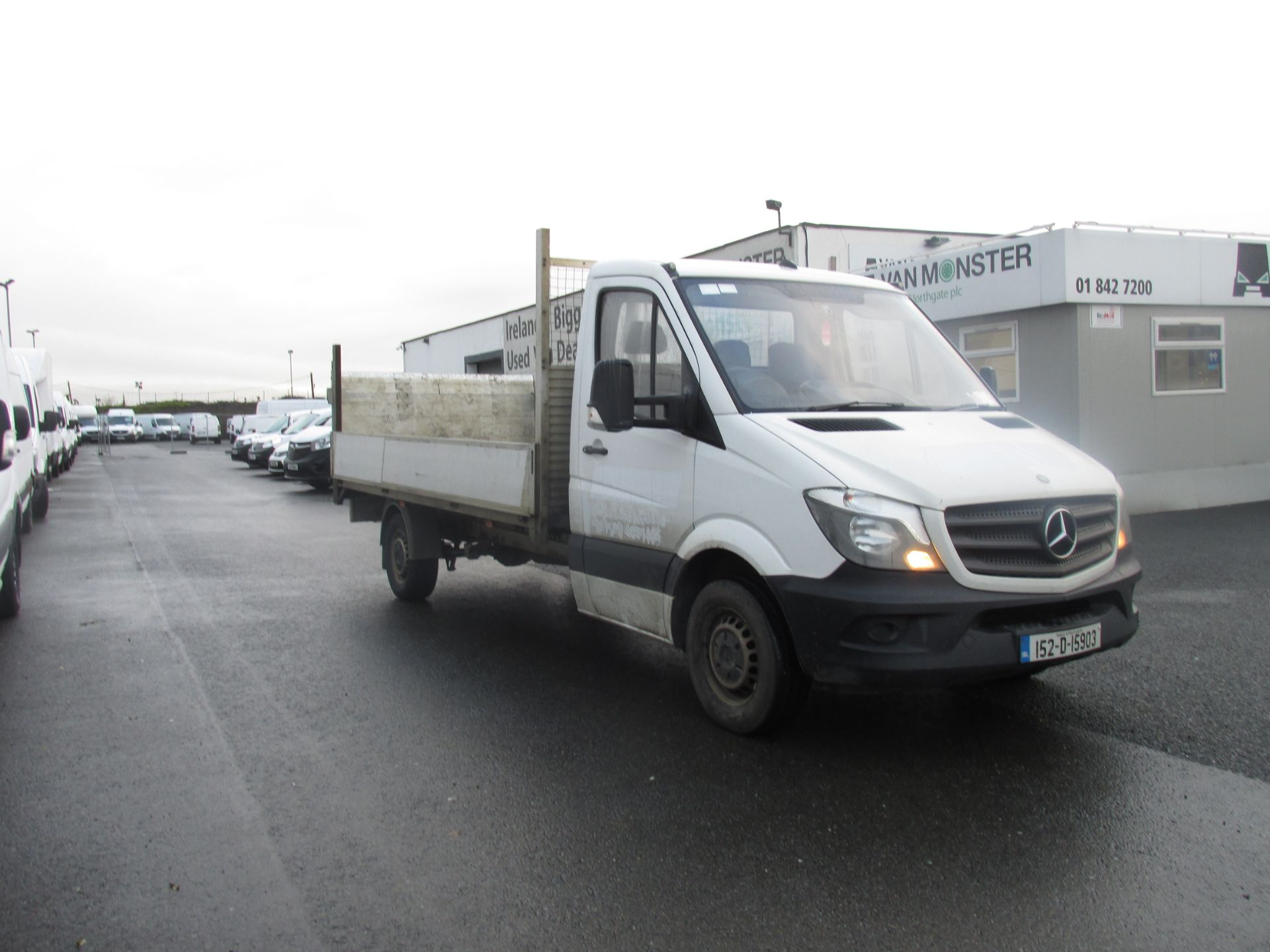 2015 Mercedes Sprinter 313 CDI - SPRINTER -  DROPSIDE  WITH  TAILLIFT  - (152D15903) Image 1