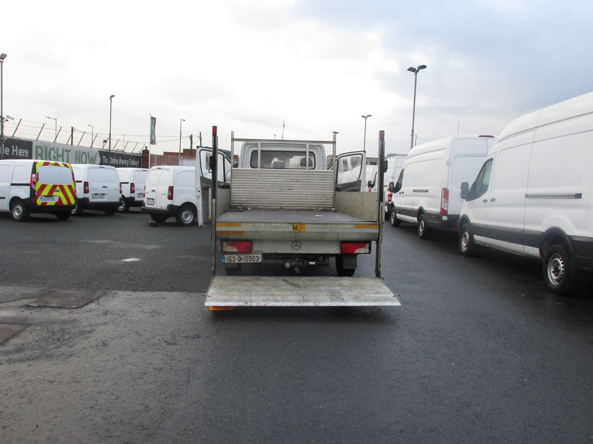 2015 Mercedes Sprinter 313 CDI - SPRINTER -  DROPSIDE  WITH  TAILLIFT  - (152D15903) Image 8