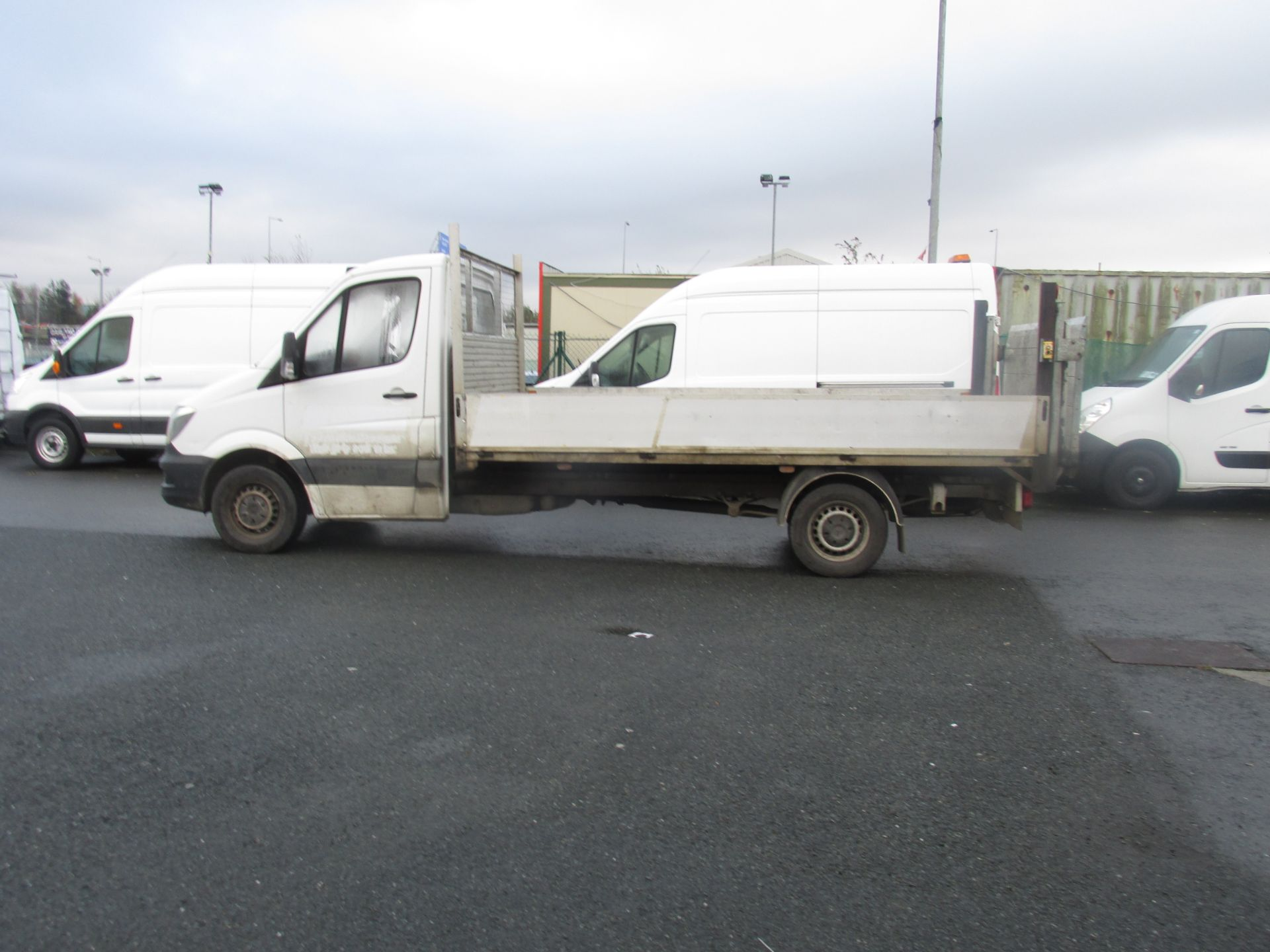 2015 Mercedes Sprinter 313 CDI - SPRINTER -  DROPSIDE  WITH  TAILLIFT  - (152D15903) Image 5