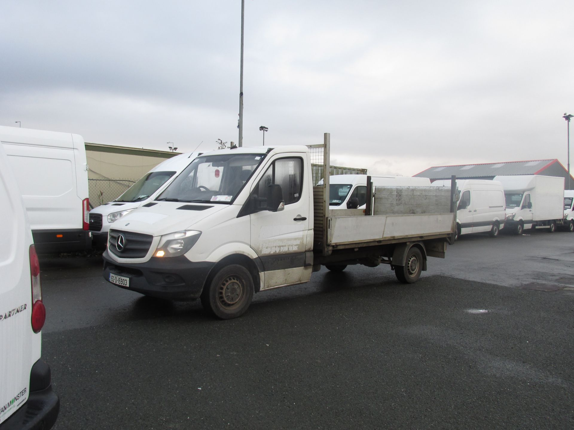 2015 Mercedes Sprinter 313 CDI - SPRINTER -  DROPSIDE  WITH  TAILLIFT  - (152D15903) Image 6