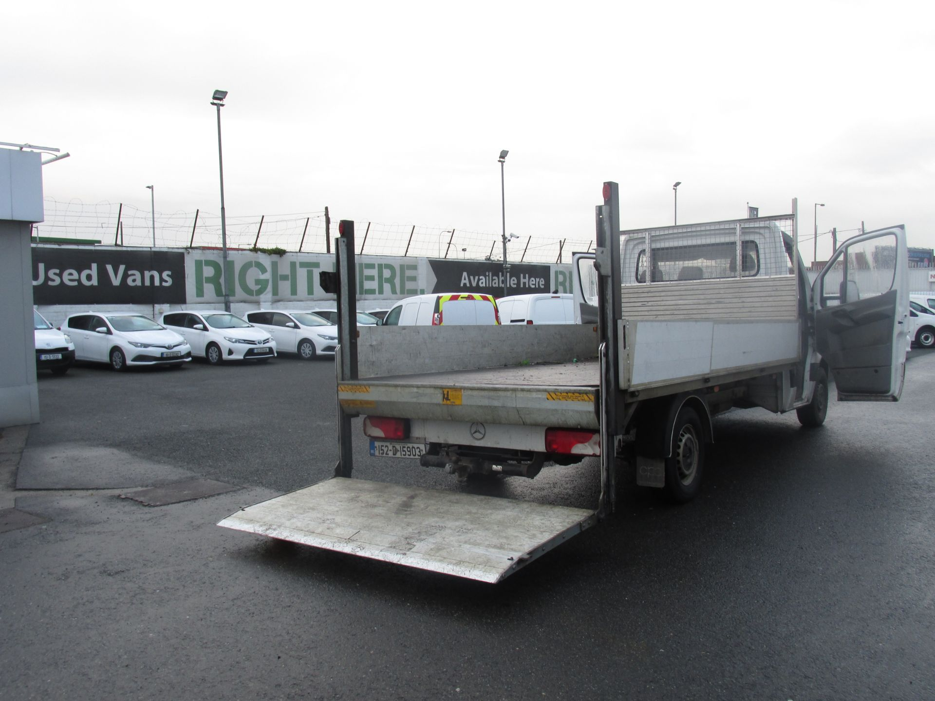 2015 Mercedes Sprinter 313 CDI - SPRINTER -  DROPSIDE  WITH  TAILLIFT  - (152D15903) Image 9